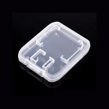 SD Memory Card Case SDHC Holder Protector Transparent Box Plastic Storage
