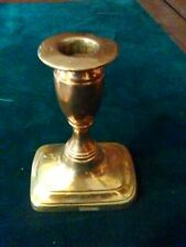 Brass candlestick of the Victorian Period.