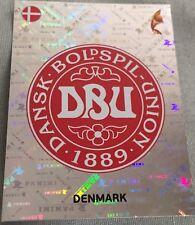 womens euro 2017 panini sticker 55 Denmark badge