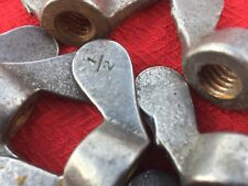 """Old Vintage Wing Nuts 0.5""""BSW Whitworth Thread X 1"""
