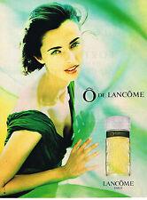 PUBLICITE ADVERTISING  1994   LANCOME  parfum O