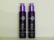 IT'S A 10 SILK EXPRESS MIRACLE SMOOTHING BALM 5 oz EACH ( LOT OF 2 )