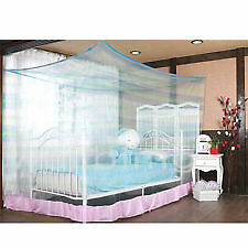 Ans Double Bed Mosquito Net 6.25 X 6.25 Ft King Size Heavy Quality Plain