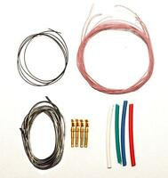 """ISOKINETIK ISOTONE PURE SILVER INTERNAL TONEARM REWIRE KIT FOR MOST 9"""" ARMS"""