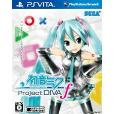 Japan playstation vita PS Vita PSV  Hatsune Miku Project DIVA- f