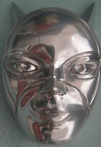 WARNER BROS CATWOMAN Limited Edition MASK Pewter/Aluminum NIB Batman Statue
