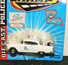 Louisiana State Police Vintage 1955 CHEVY BEL AIR 1:43 SCALE MIP !