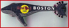 Hard Rock Cafe BOSTON 2001? WHALE GUITAR PIN HRC Catalog #15025 New in HRC Bag!