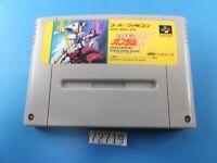 Gundam W Wing Endless Duel SNES Nintendo Super Famicom SFC Used Japan 72719
