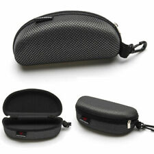 Portable Zipper Eye Glasses Sunglasses Hard Case Box protector Large-Holde W6P0