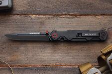 "(Produced WE Knife CO.) MR.BLADE - STILETTO Folding Pocket Knife ""FERAT BLACK""."