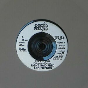 """RIGHT SAID FRED AND FRIENDS 'STICK IT OUT' UK 7"""" SINGLE"""