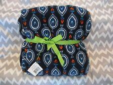 """Vera Bradley Throw Blanket, Marrakesh Motifs, 80"""" x 50"""", Retired Pattern"""