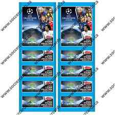 2016-17 TOPPS CHAMPIONS LEAGUE STICKERS 10 SEALED PACKS 50 STICKERS TOTAL