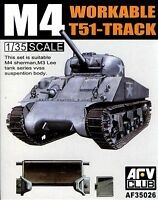 AFV Club 1/35 AF35026 WORKABLE T51-Track for M4, M3 Series VVSS Suspention Body