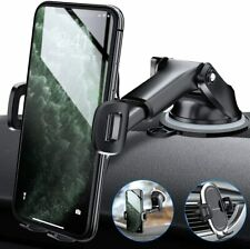 Amwanan Car Phone Mount, One-Touch Cell Phone Holder for Dashboard, Windshield