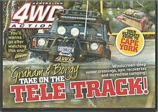AUSTRALIAN 4WD ACTION - ISSUE 223 GRAHAM & BORGY TAKE ON THE TELE TRACK!