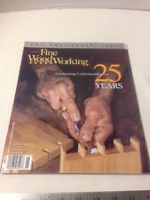 Fine Woodworking Magazine 25th Anniversary Issue 2001