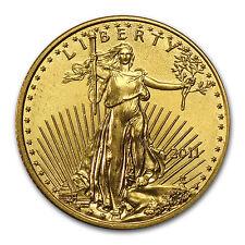 2011 1/10 oz Gold American Eagle Coin - Brilliant Uncirculated - SKU #59149