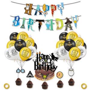 Harry Potter Theme Happy Birthday Decoration Set
