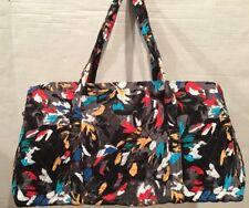 Vera Bradley SPLASH FLORAL LARGE DUFFEL Travel Bag Weekend Tote Bag New 15826