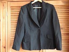 Purple laddies pin stripe suite jacket size 14