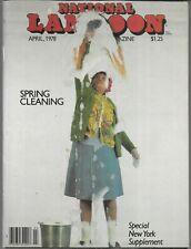 NATIONAL LAMPOON THE HUMOR MAGAZINE APRIL 1978 (VG/FN)