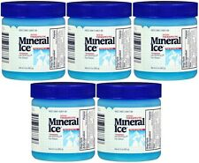 5 Pack Mineral Ice Pain Relieving Gel 3.50 oz