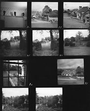 Andre Kertesz 8x10 Architectural Photo Contact Sheet, Cecil Beaton's Home 1949
