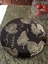 Tabletops Gallery Rustic Grape Large 14� Serving Platter