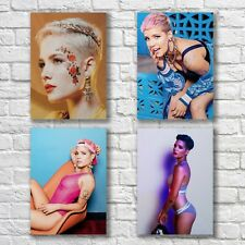 Halsey Poster A4 HQ NEW Set Print Sexy Hot Pretty Woman Home Wall Decor