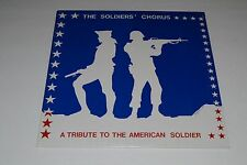 The Soldiers' Chorus~A Tribute To The American Soldier~PROMO~NEW/SEALED