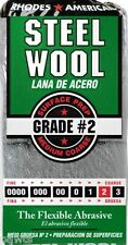 12 Pad Steel Wool Grade 2 - Medium Coarse
