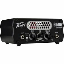 Peavey 6505 Piranha 20W Tube Hybrid Guitar Amp Head Black MINT OPEN BOX UNIT
