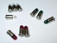 Lampes de Rechange MS4 Rouge,Vert,Transparent - 19V - Couleur au Choix 10 Pièce