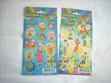 Stickers autocollants Digimon digital monsters Fox kinders