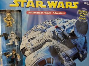 Star Wars Millennium Falcon - NEW IN BOX - Playskool Hasbro Galactic Heroes 2002