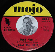 Rockabilly 45~BILLY LEE RILEY~Don't Fight It / Mississippi Delta~MOJO 8001 CLEAN