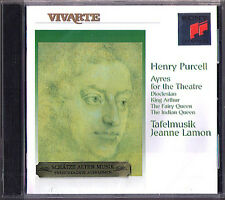 PURCELL Dioclesian King Artur Indian Fairy Queen TAFELMUSIK Jeanne Lamon CD