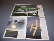 VINTAGE..1976 GRUMAN AMERICAN CHEETAH.DETAILS/HISTORY/PHOTOS/SPECS..RARE! (504N)
