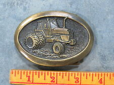 JI CASE 2590 Tractor Belt Buckle Brass High Quality Limited Edition nice!