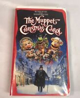 The Muppet Christmas Carol Walt Disney Jim Henson (VHS, 1993)