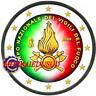 2 Euro Commémorative Italie 2020 en Couleur Type B - Sapeurs Pompiers