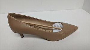 Sam Edelman Dori Pumps, Nude Leather, Women's 7.5 Wide