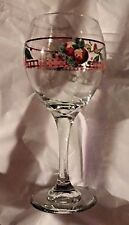 4 NEW Pfaltzgraff DELICIOUS Red Apple Goblets Wine or Water Glasses