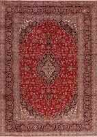 Medallion Hand-Knotted VINTAGE Floral Ardakan Wool Oriental Area Rug 8x11 Carpet