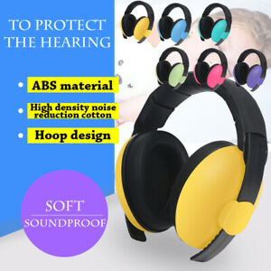 Six color BABY Childs Ear Defenders Earmuffs Protection Boys Girls Ear Muffs