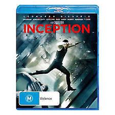 Inception Blu-ray + DVD (4 Disc Set) AUSTRALIAN REGION