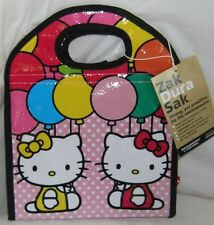 Hello Kitty Lunch Sack Insulated School Travel Nice Gift Free Usa Shipping
