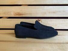 GIORGIO ARMANI  Men Shoes Blue Suede Loafer Sz. UK 7  US 8